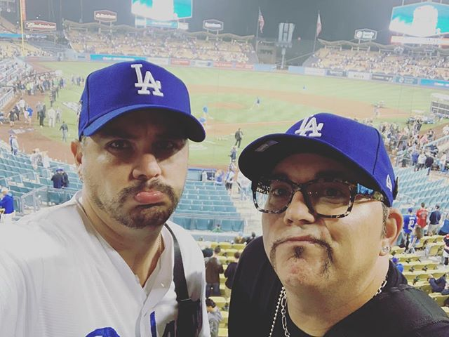 Bummed they lost but we had fun anyway! Lets go Dodgers! #supportwhentheyaredown
