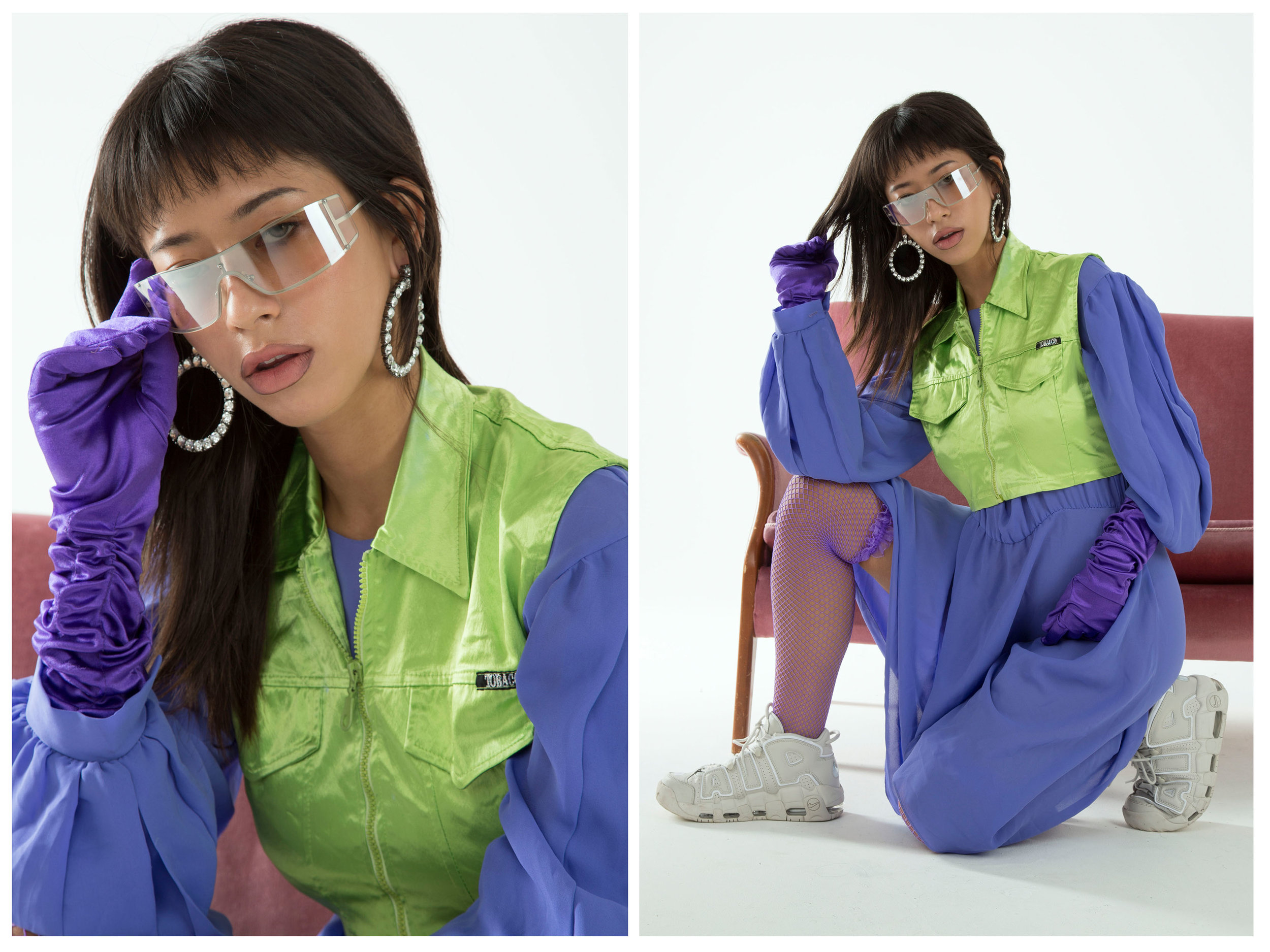 OUTFIT: ALL 00sGarms , EARRINGS,ASOS , SHOES Nike Air Uptempo