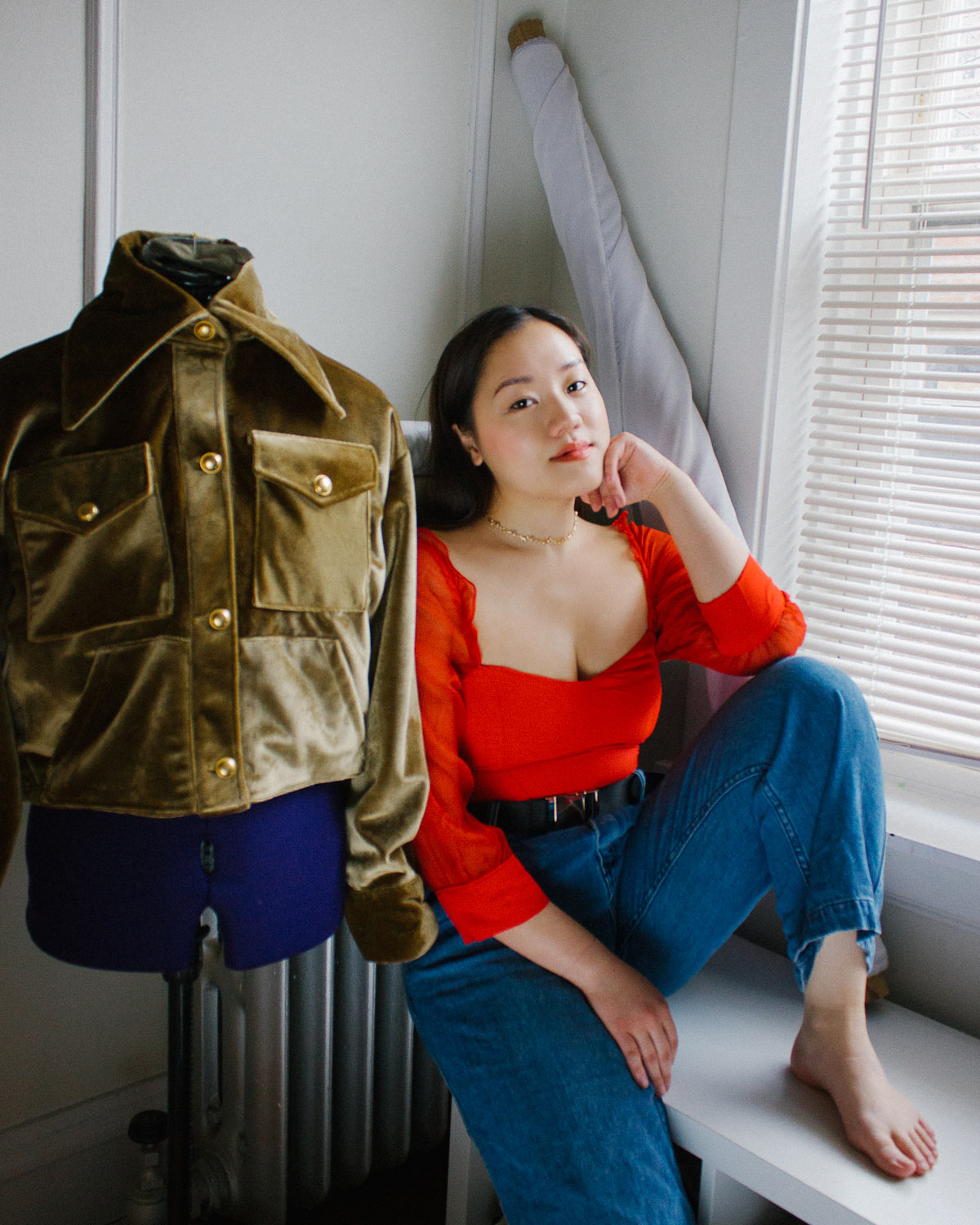 Tiffany Lee, founder and designer behind Lilt Clothing