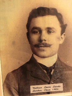 Nathan Louis `Lando, my granfather