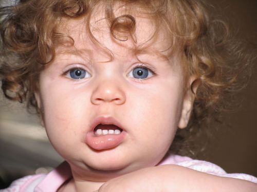A cute baby does not have a personal brand!