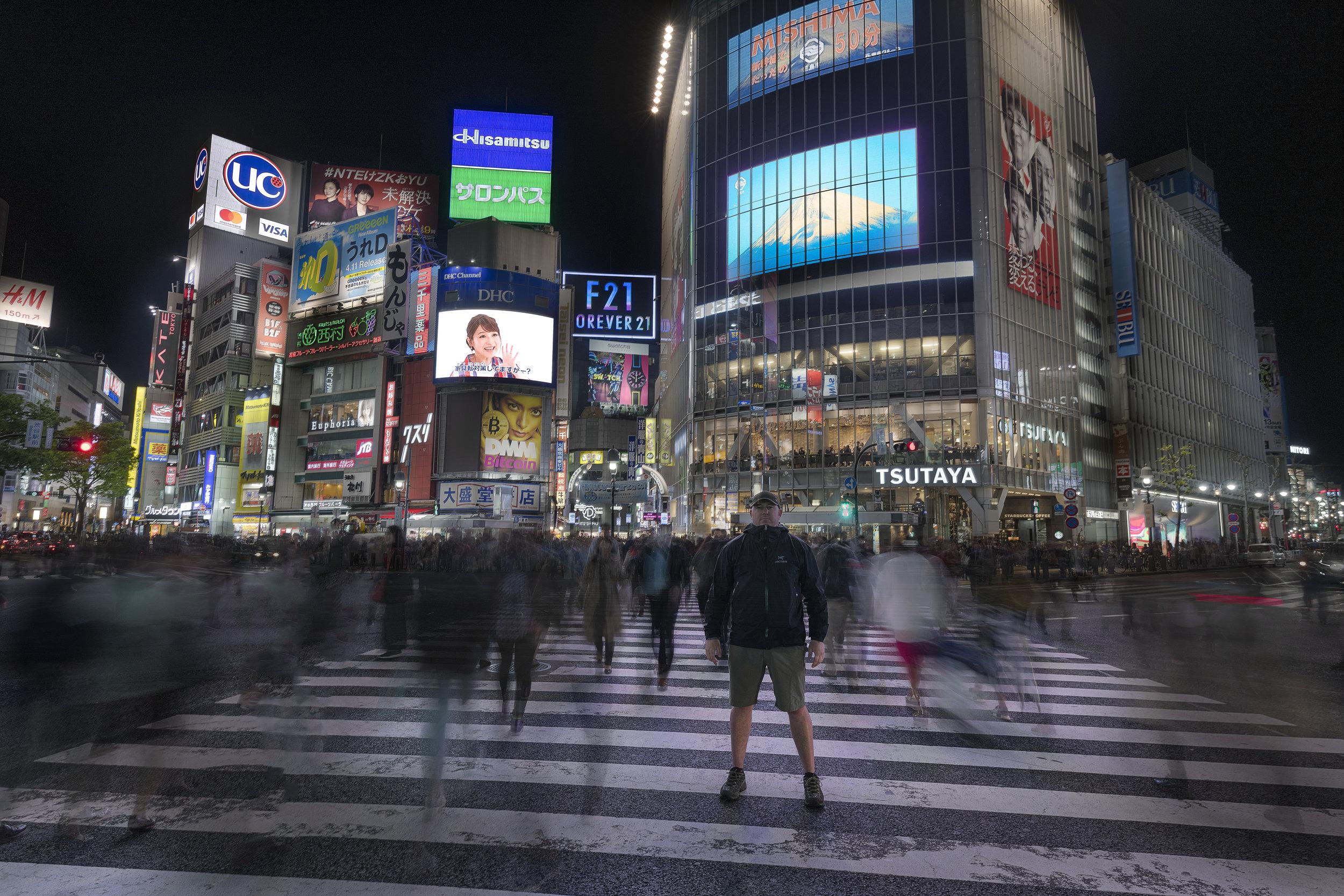 Shibuya crossing - Tokyo, Japan.