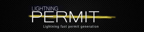 lightning permit automation sheet generation arc