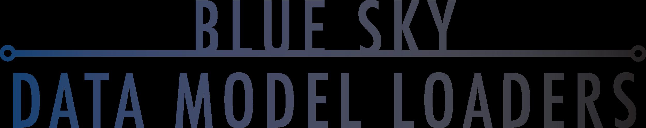 blue sky data model loaders pods apdm updm pipeline standard