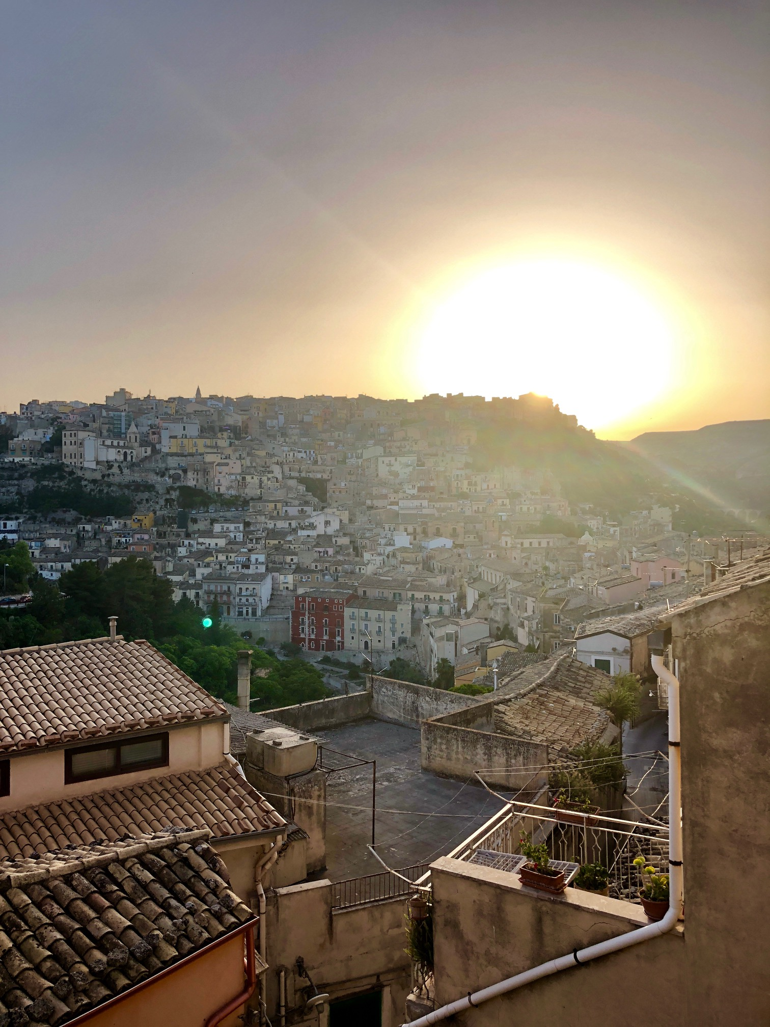 Modica from the hilltop