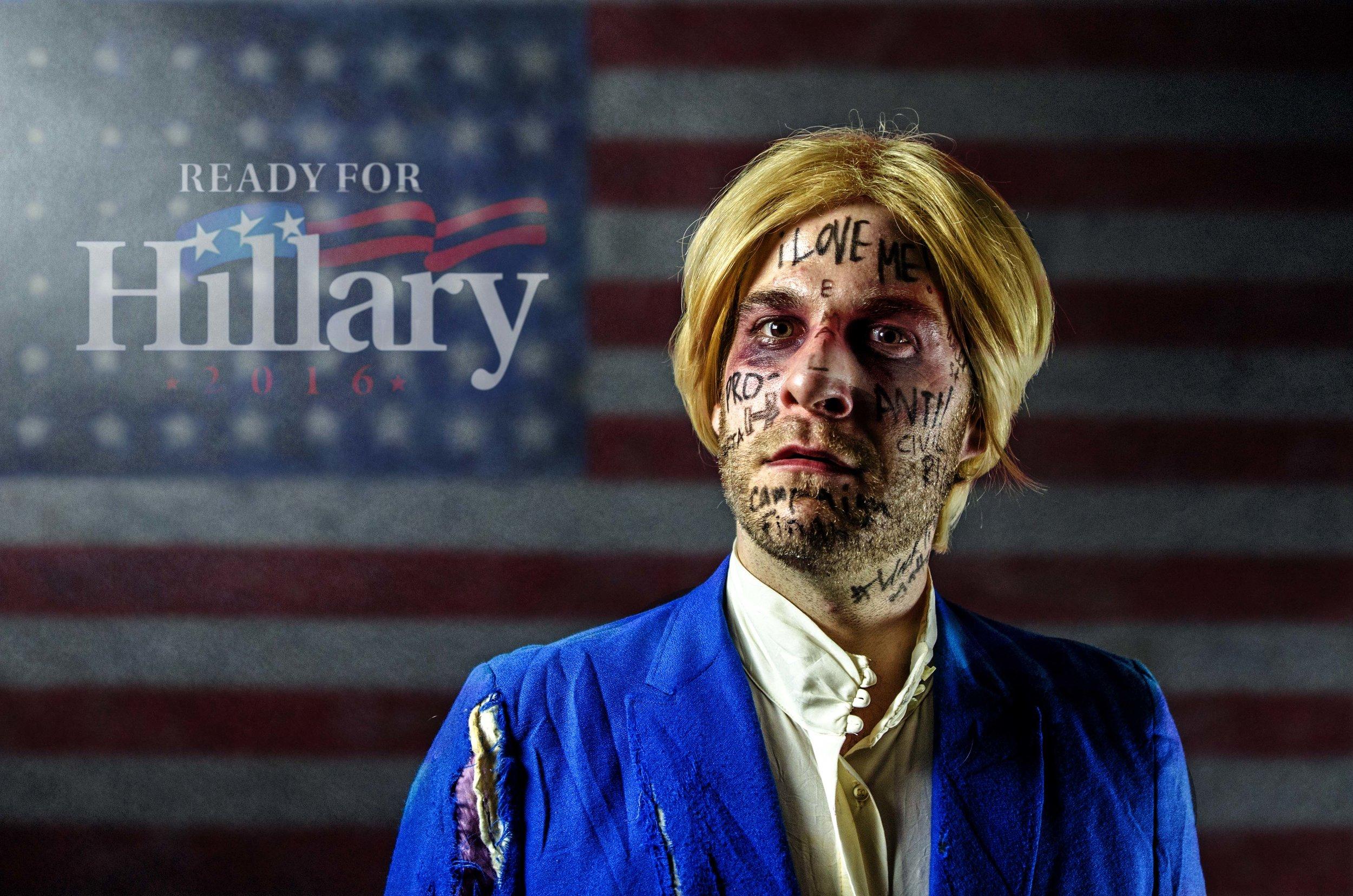 Hillary Clinton in The Hopefuls, Photo by Eric Tsurumoto