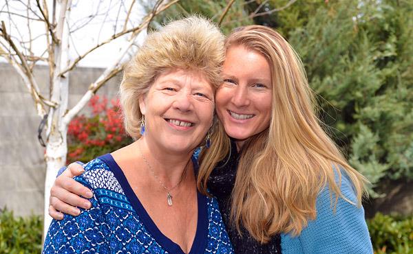 Susan Stedman and Victoria Christian