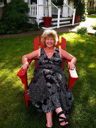 Susan on Mother's Day, Jacksonville, Oregon.