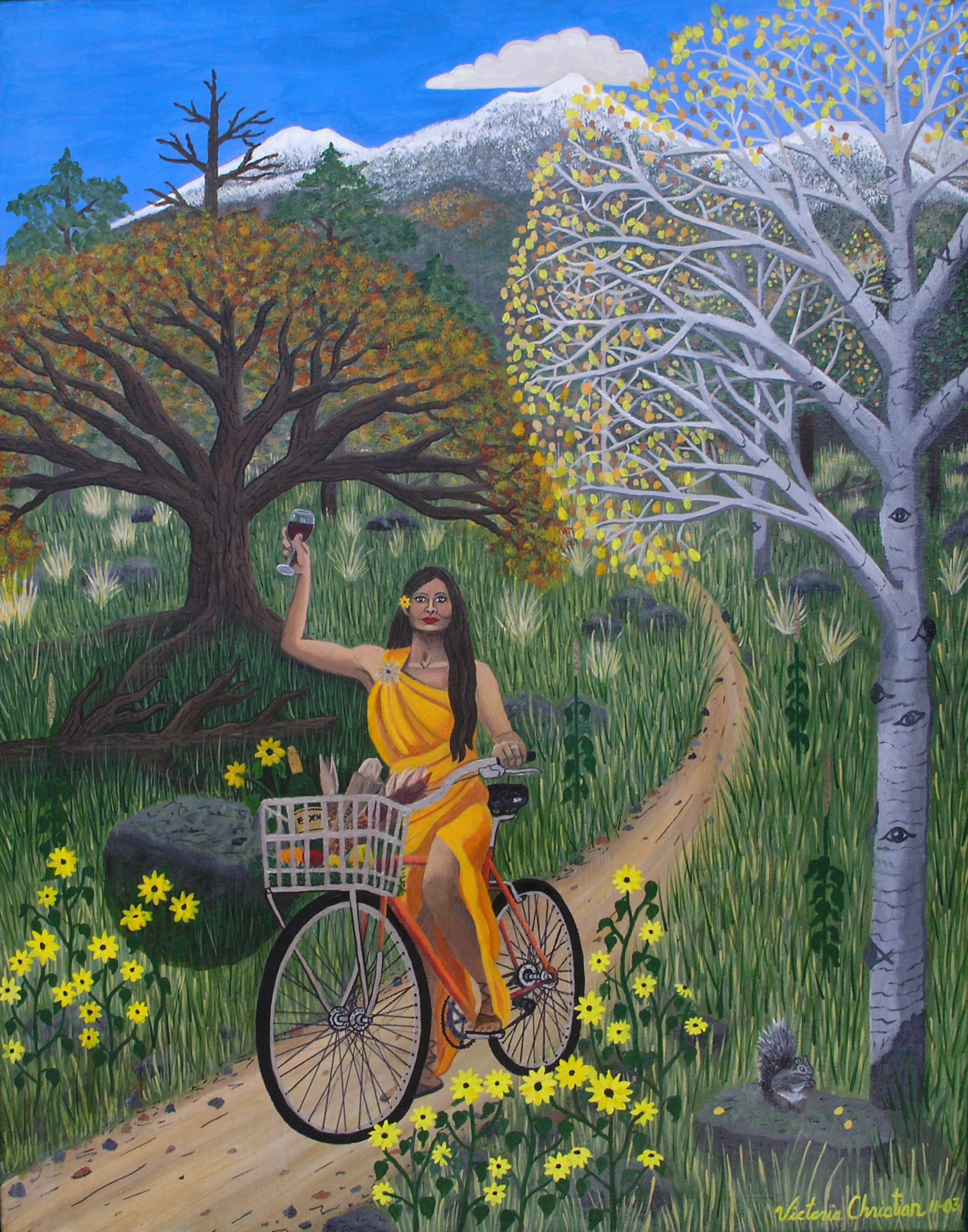 Flagstaff Biking Goddess