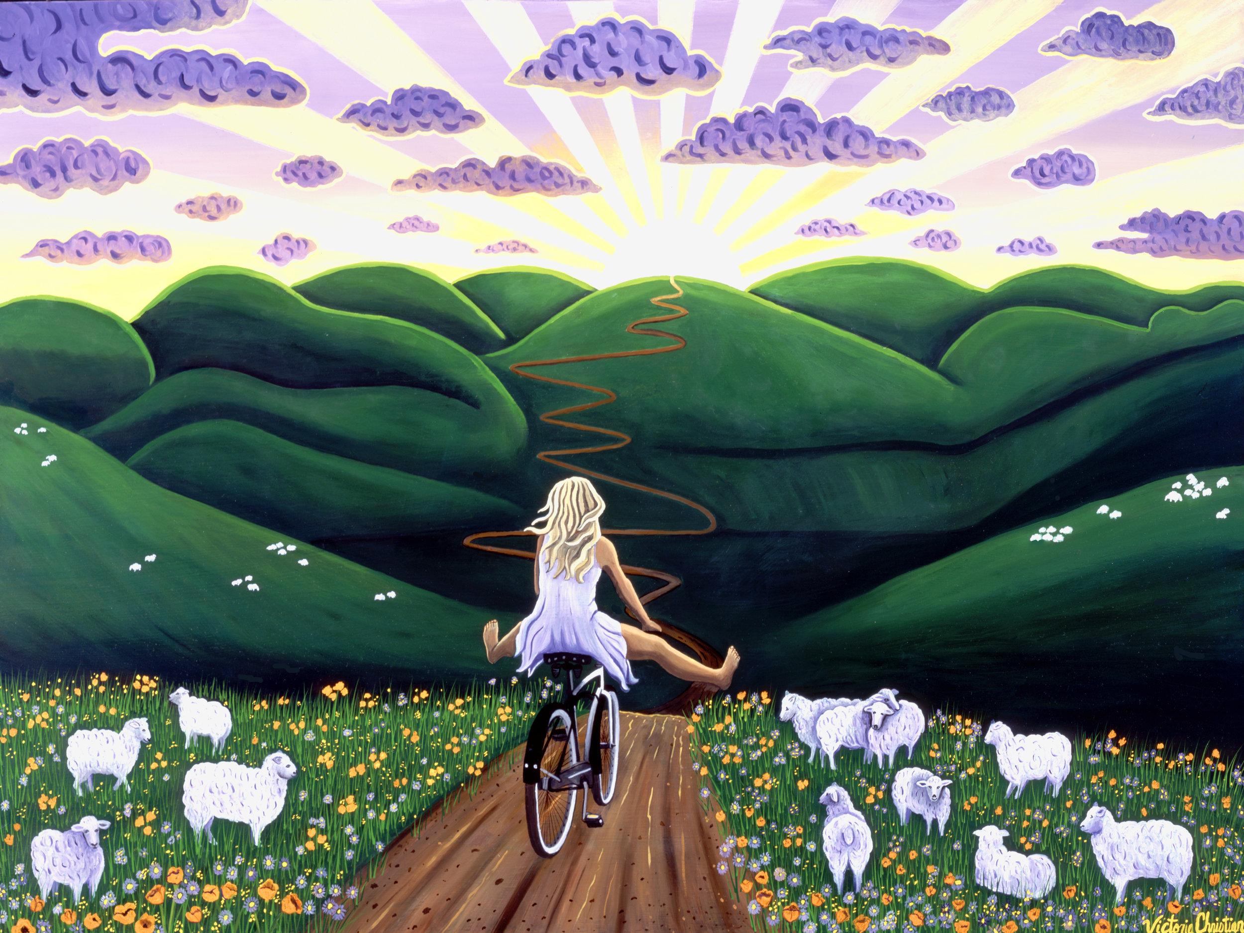 Destination Sun, Cali Biking Goddess
