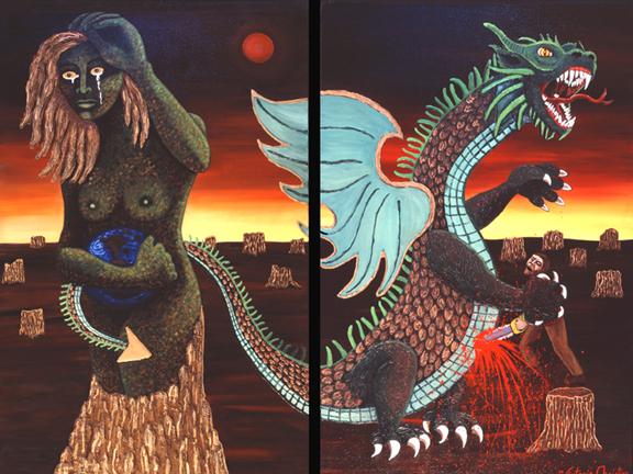 Slaying of the Goddess/Dragon