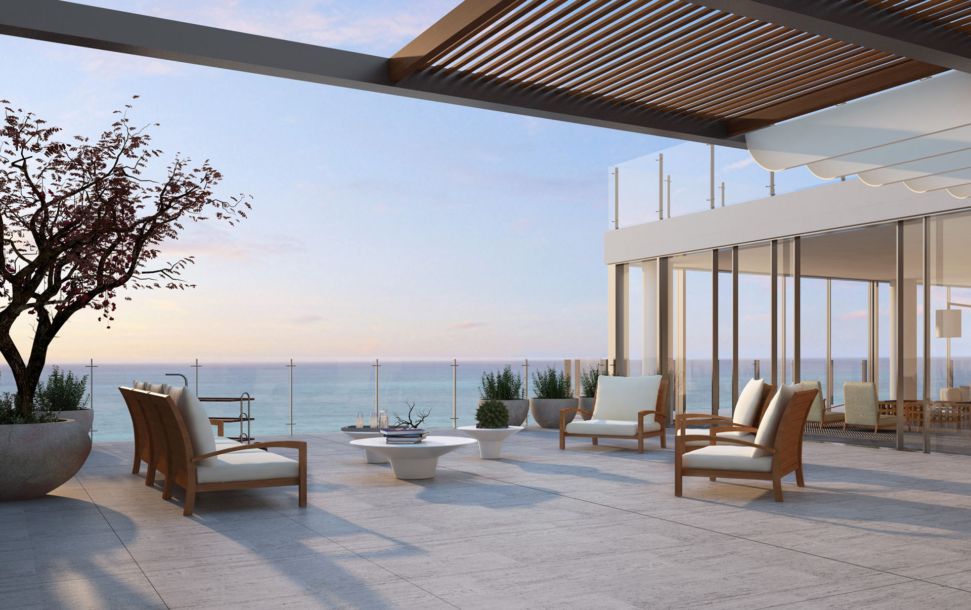 Duplex Penthouse terrace