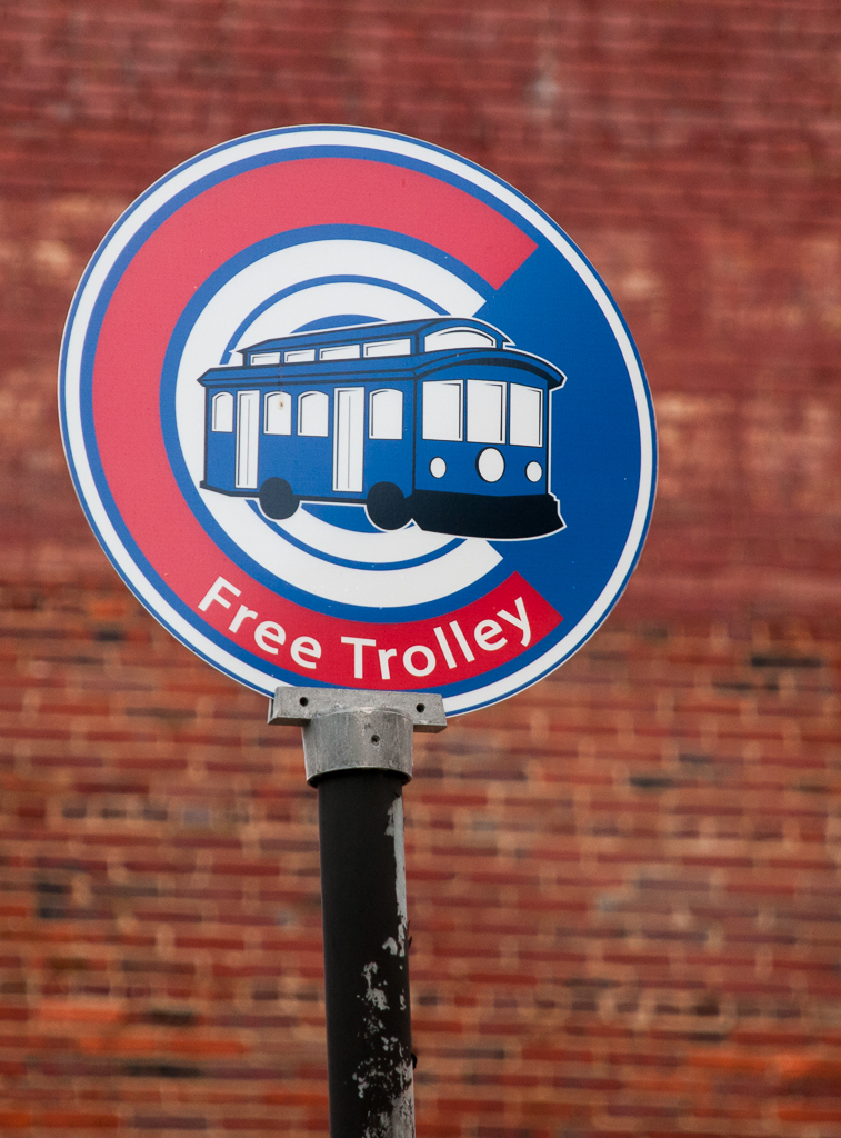 Look for the   Circulator   signs