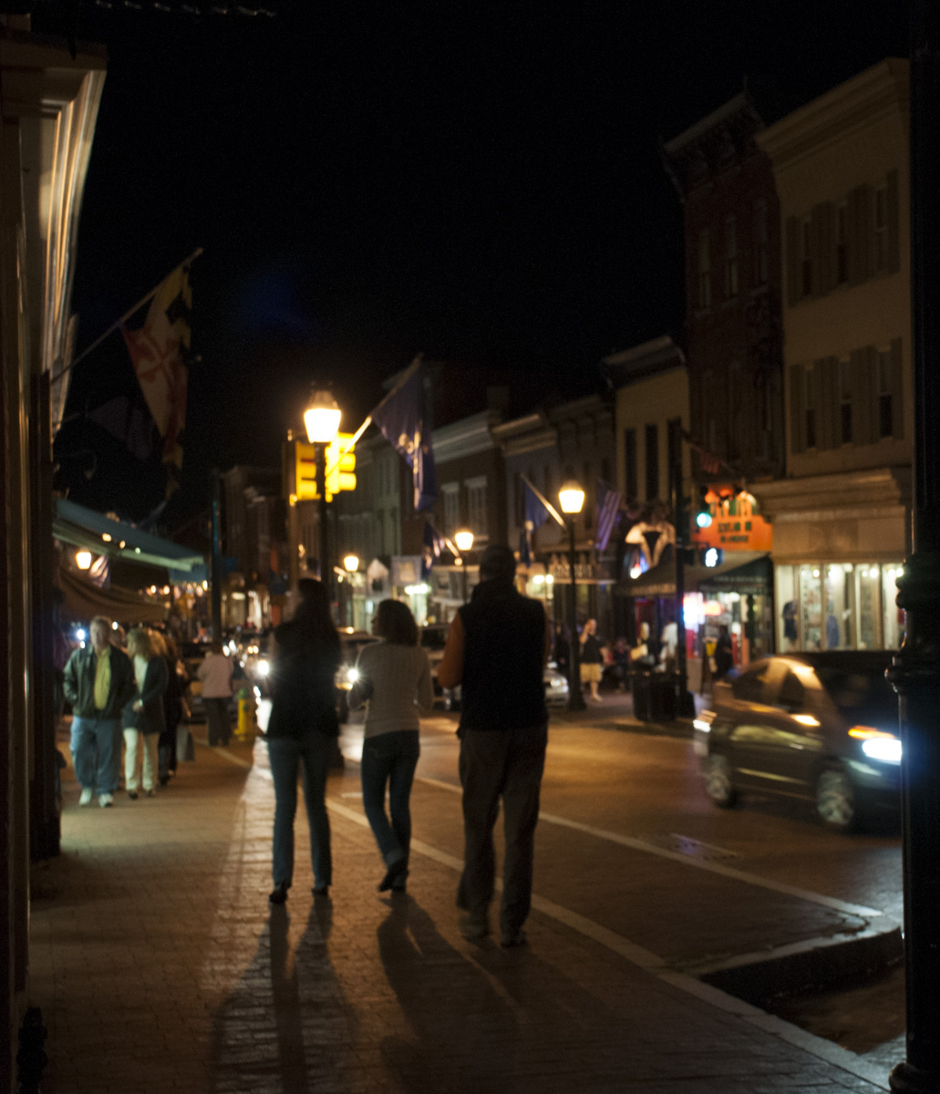 Night Life in Annapolis, © Lauren Peeler Brice, Four Rivers Photo Workshops