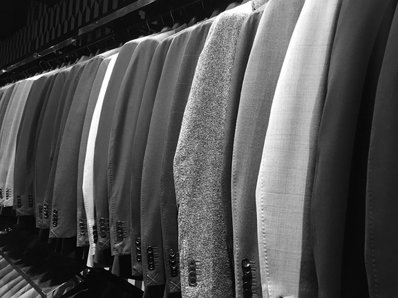 """Professional women don't know what to wear. - There is no female equivalent to the suit itself. There is no neutral garment that, when wrapped around the female body, immediately transforms from a lifeless drape into a socially accepted symbol of competence and professionalism in the way that a man's suit does.The aesthetic of """"professional"""" is unclear. The perceptions of a feminine versus an androgynous sense of style impose different sets of challenges and questions for the wearer."""