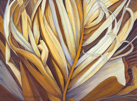 read about this image here:  https://www.artofaloha.com/palm-frond-series/ever-more