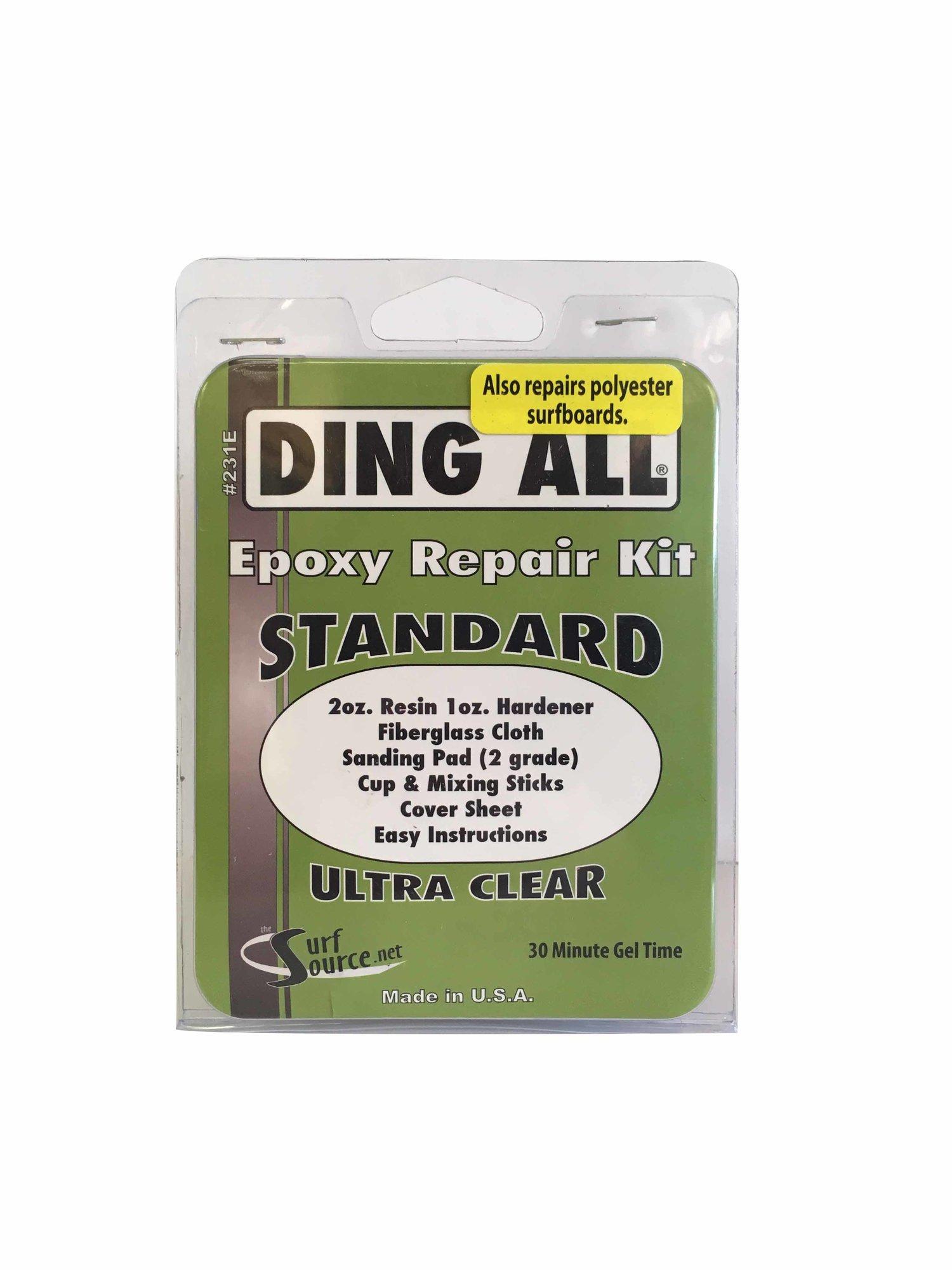 Ding All Standard Epoxy Repair Kit — Ocean Beach Surf and Skate Shop