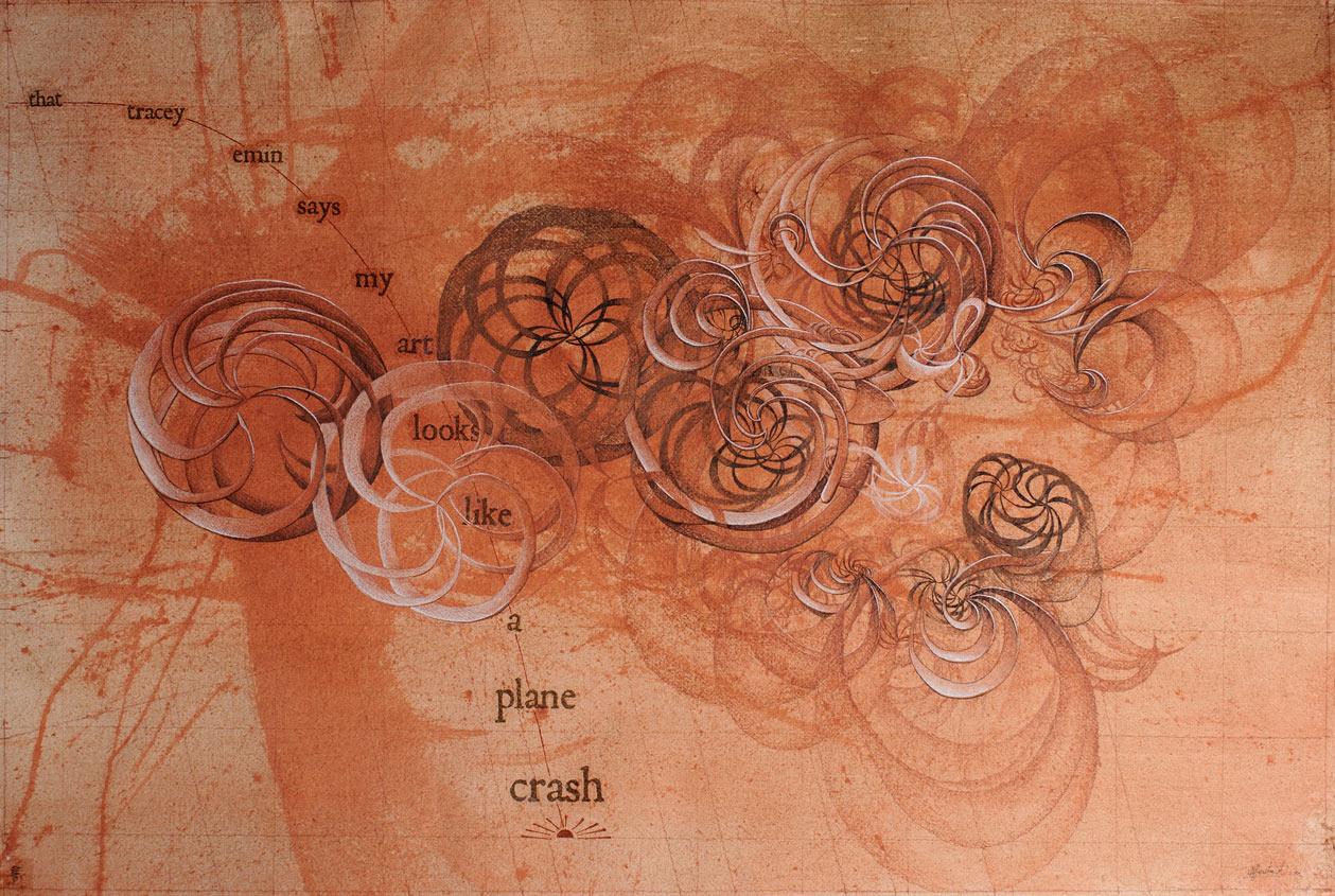 That Tracey Emin Says My Art Looks Like a Plane Crash