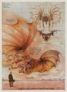 Design for a Flying Machine to Escape the Bank Manager