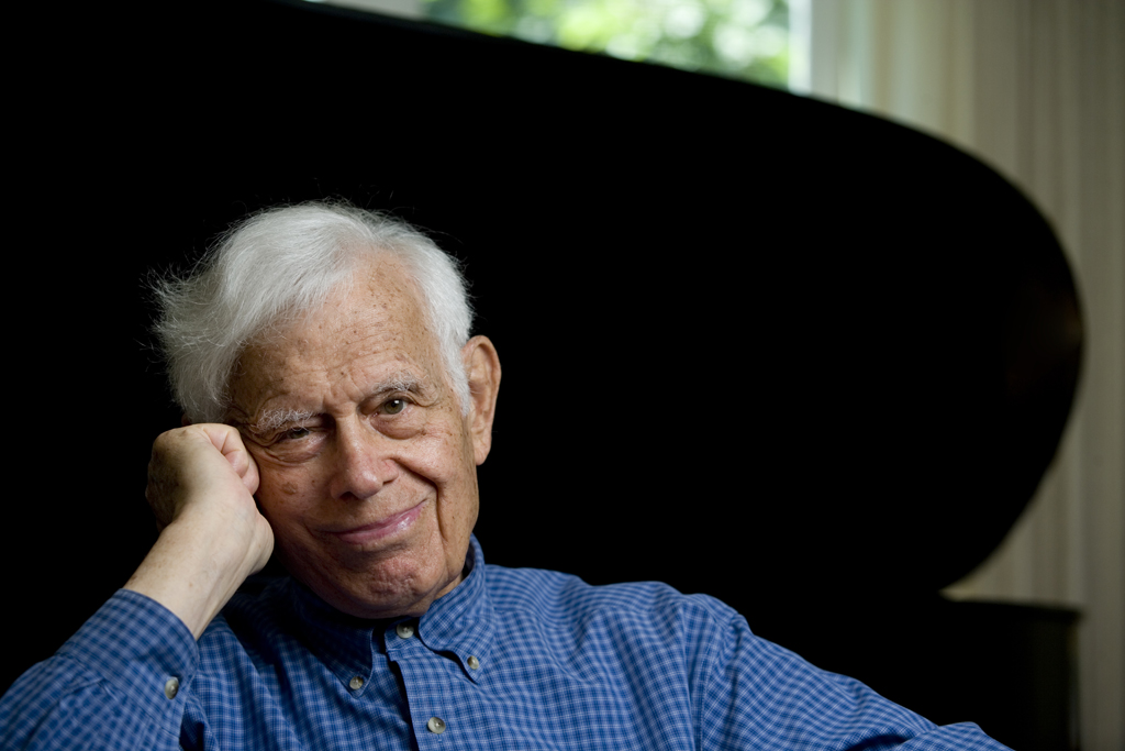 Frank Glazer, photo by Phyllis Graber Jensen/Bates College.