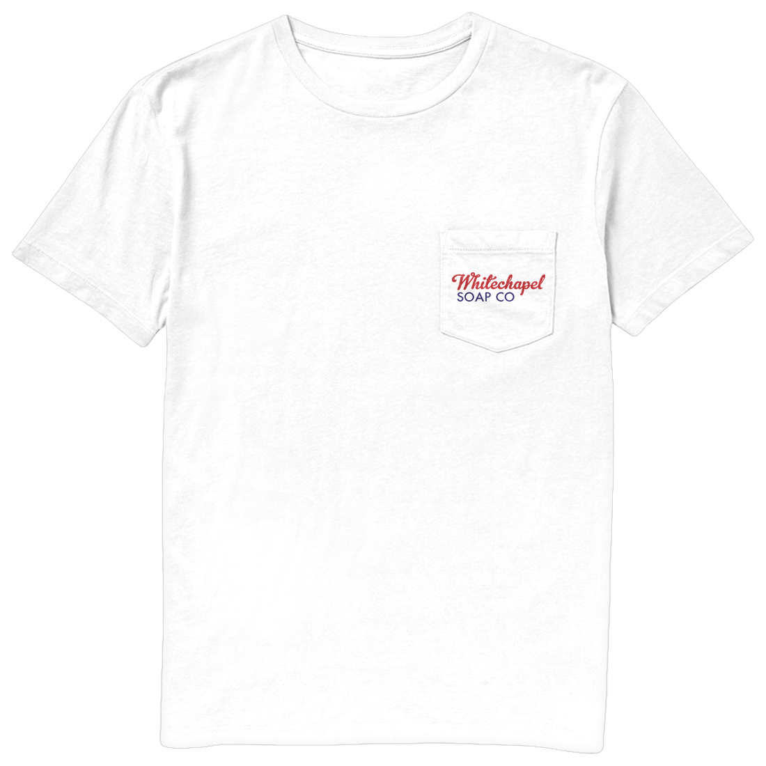 White Pocket Tee (Front)