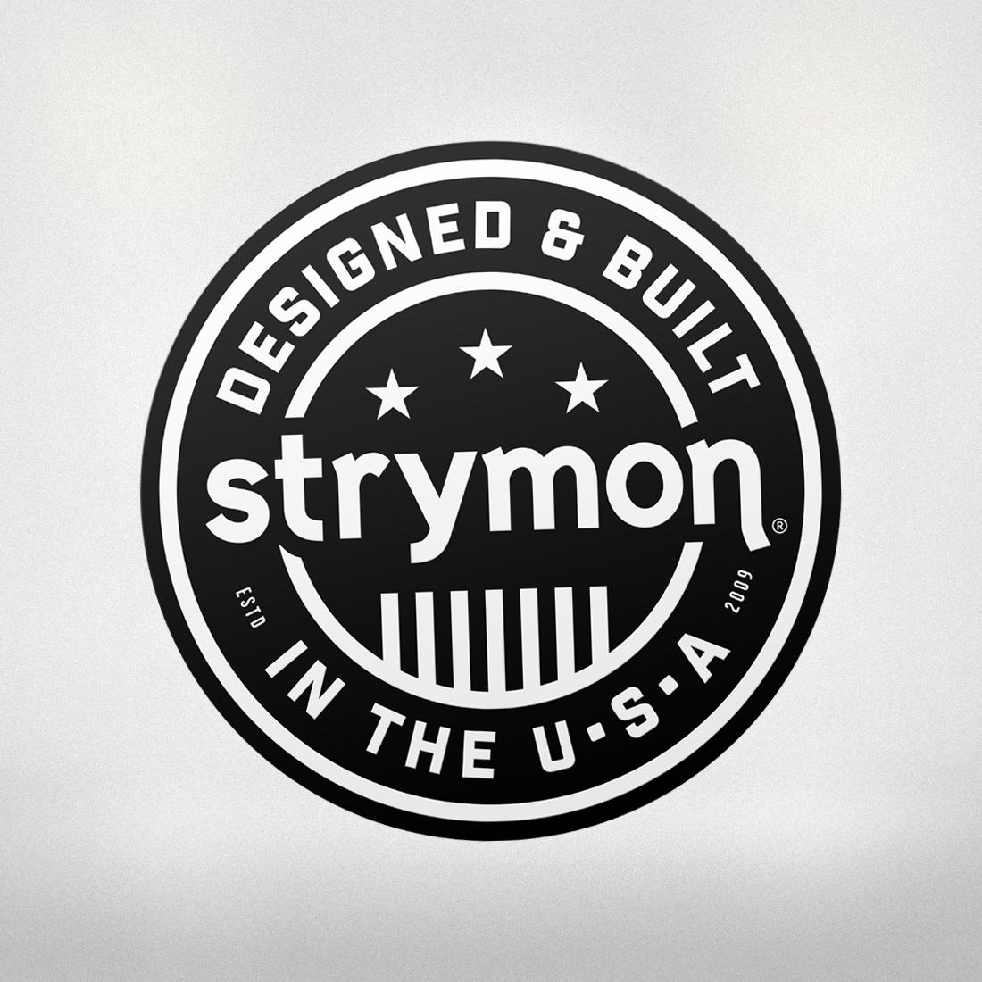 STRYMON USA STICKER