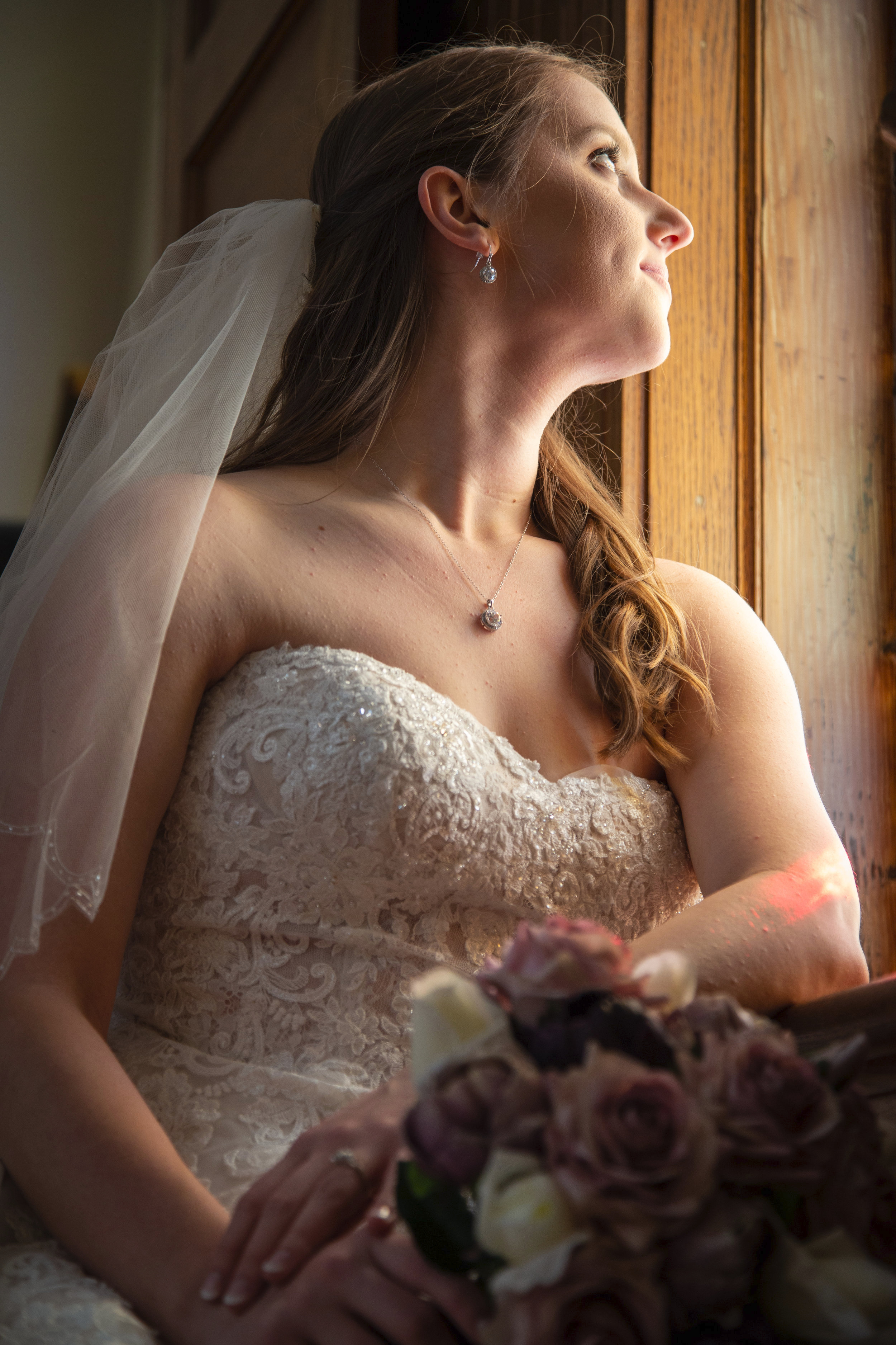 I just want to enjoy this moment and feel like a bride, not a wedding planner. - -Cassidy Helmick