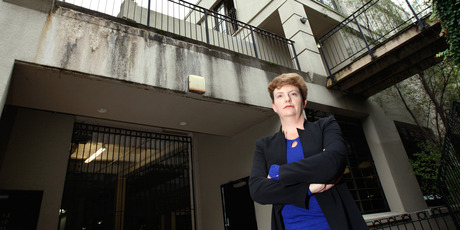 Robyn Horsfall says the quality of work on the leaky Parnell apartments exceeded that allowed for in the settlement.