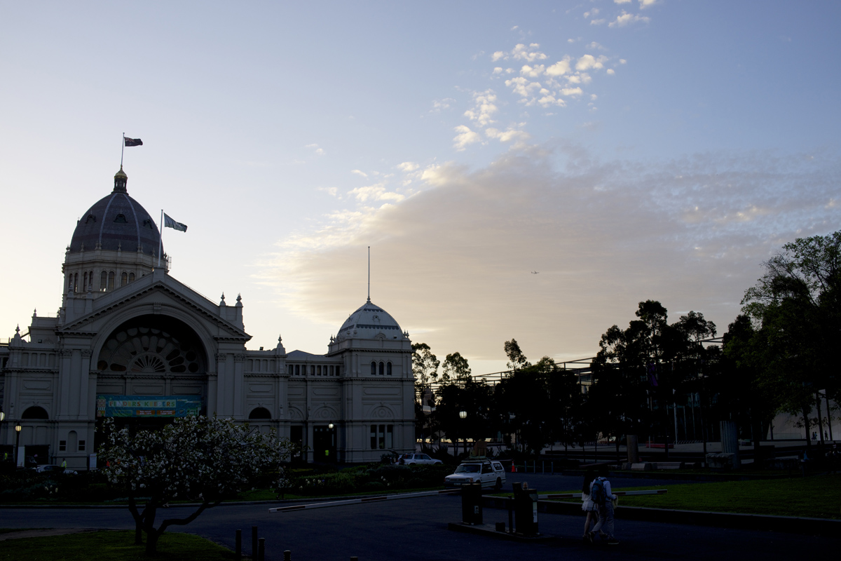 Amazing weekend! Royal Melbourne Exhibition Building after the final day of Melbourne Finders Keepers.