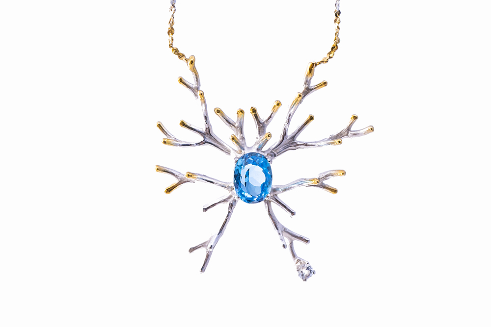Neuroscience Pendant microglia neuron luke maninov hammond