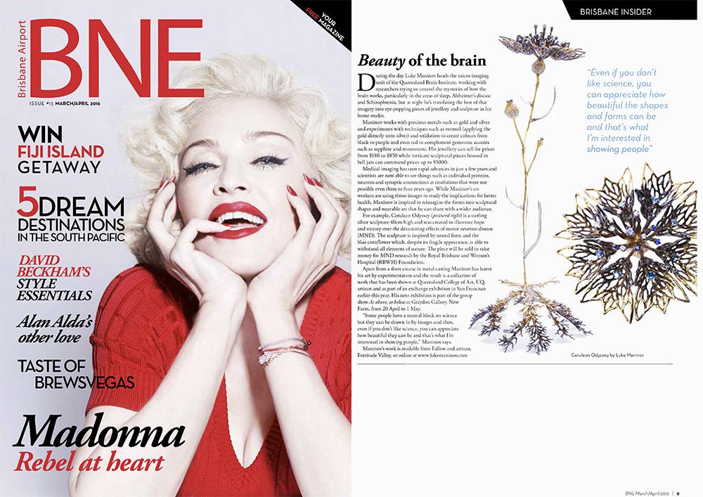BNE Magazine  | Australia  Cerulean Odyssey / Interview