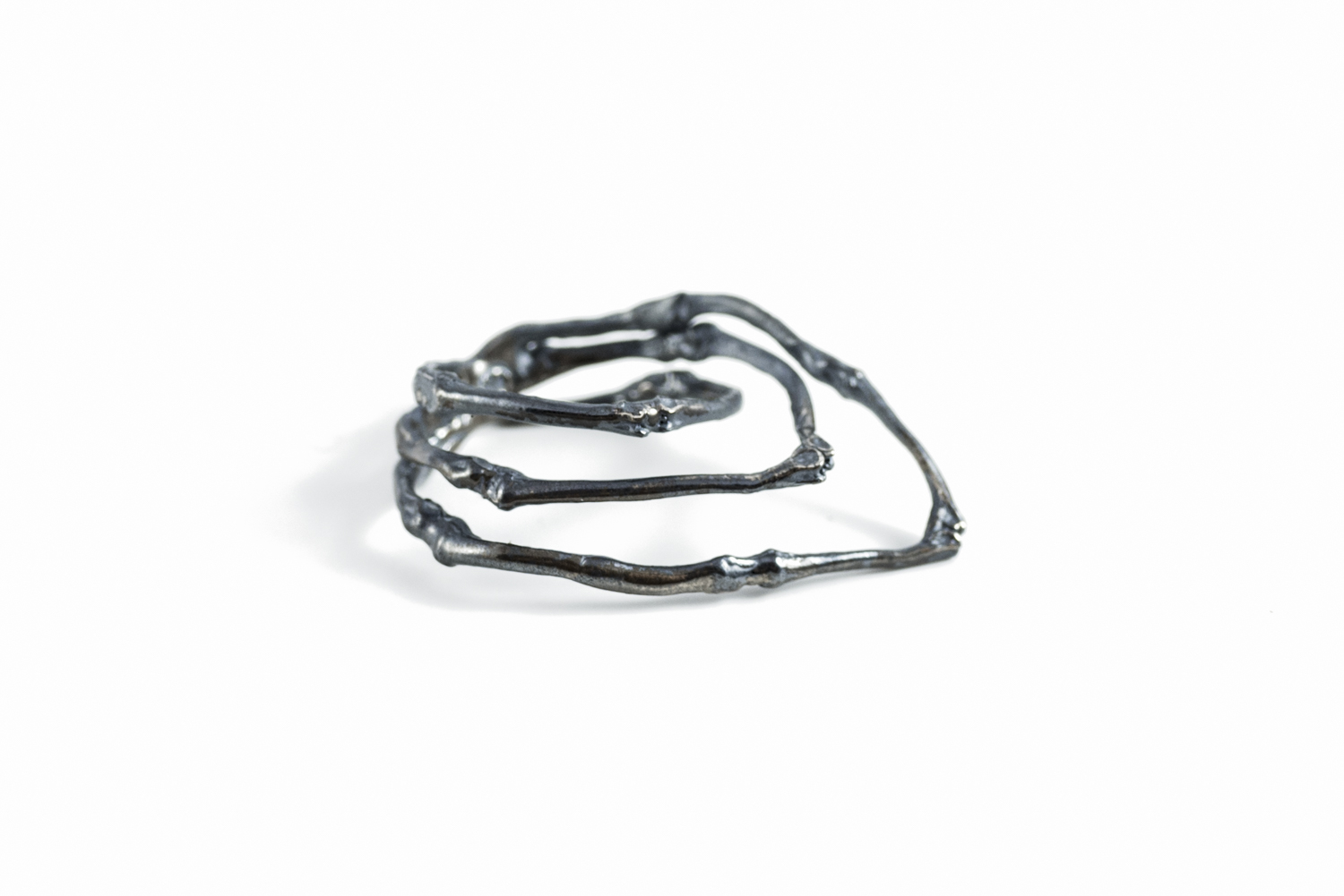 Towers Ring // Argentium Sterling Silver (2014)