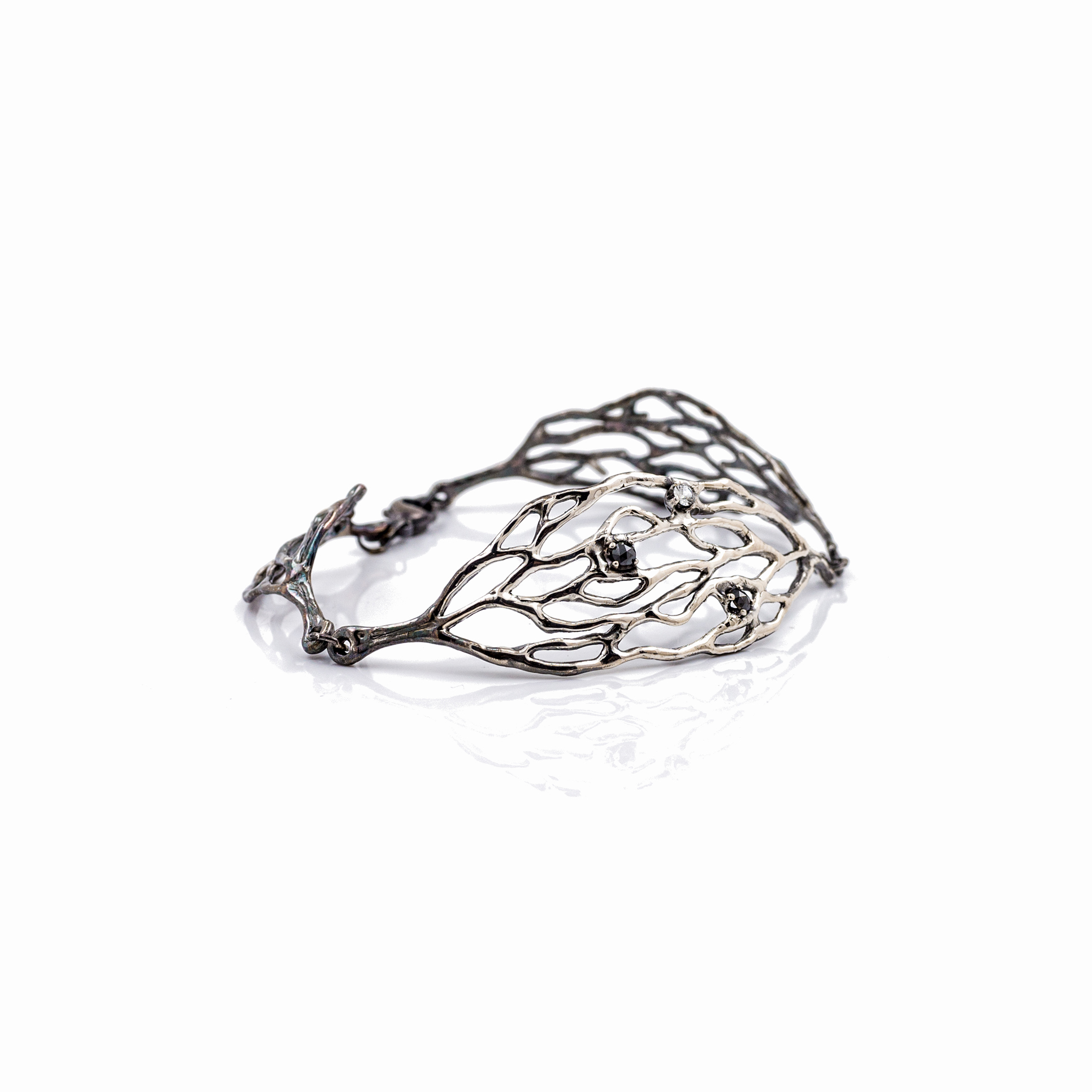 Cajal Bracelet black diamond Luke Maninov Hammond.jpg