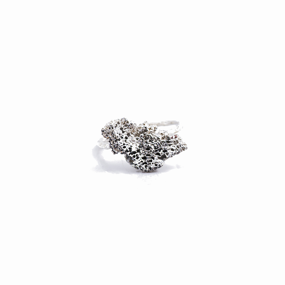 Small Island Ring | Sterling silver.