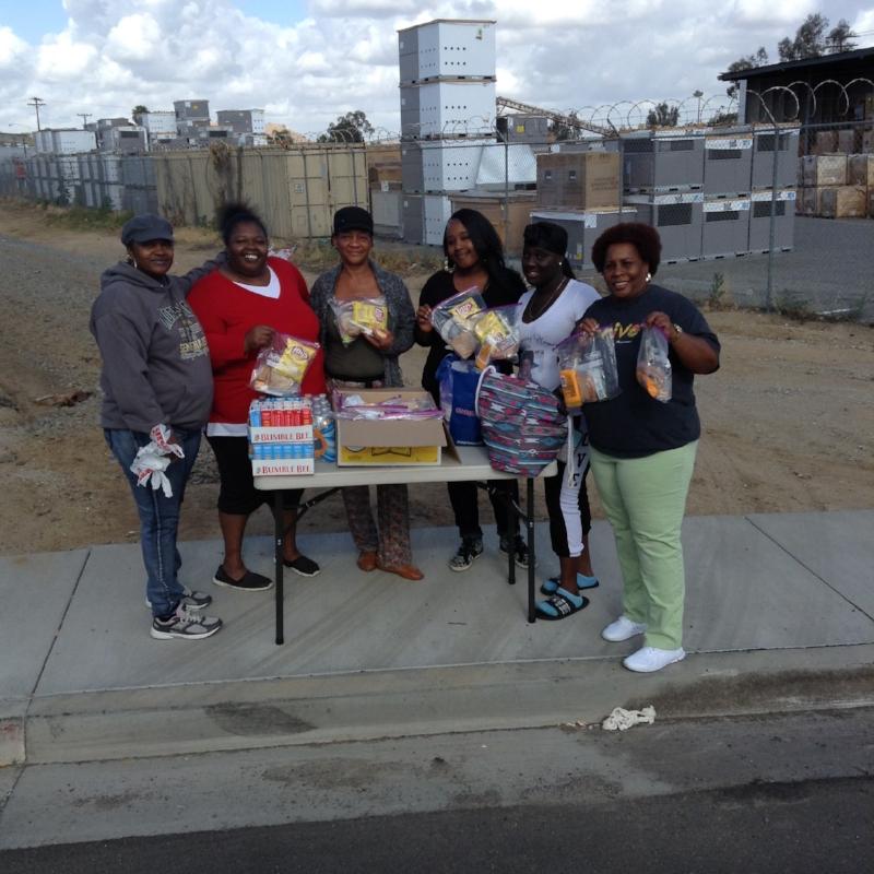 Feeding those in need