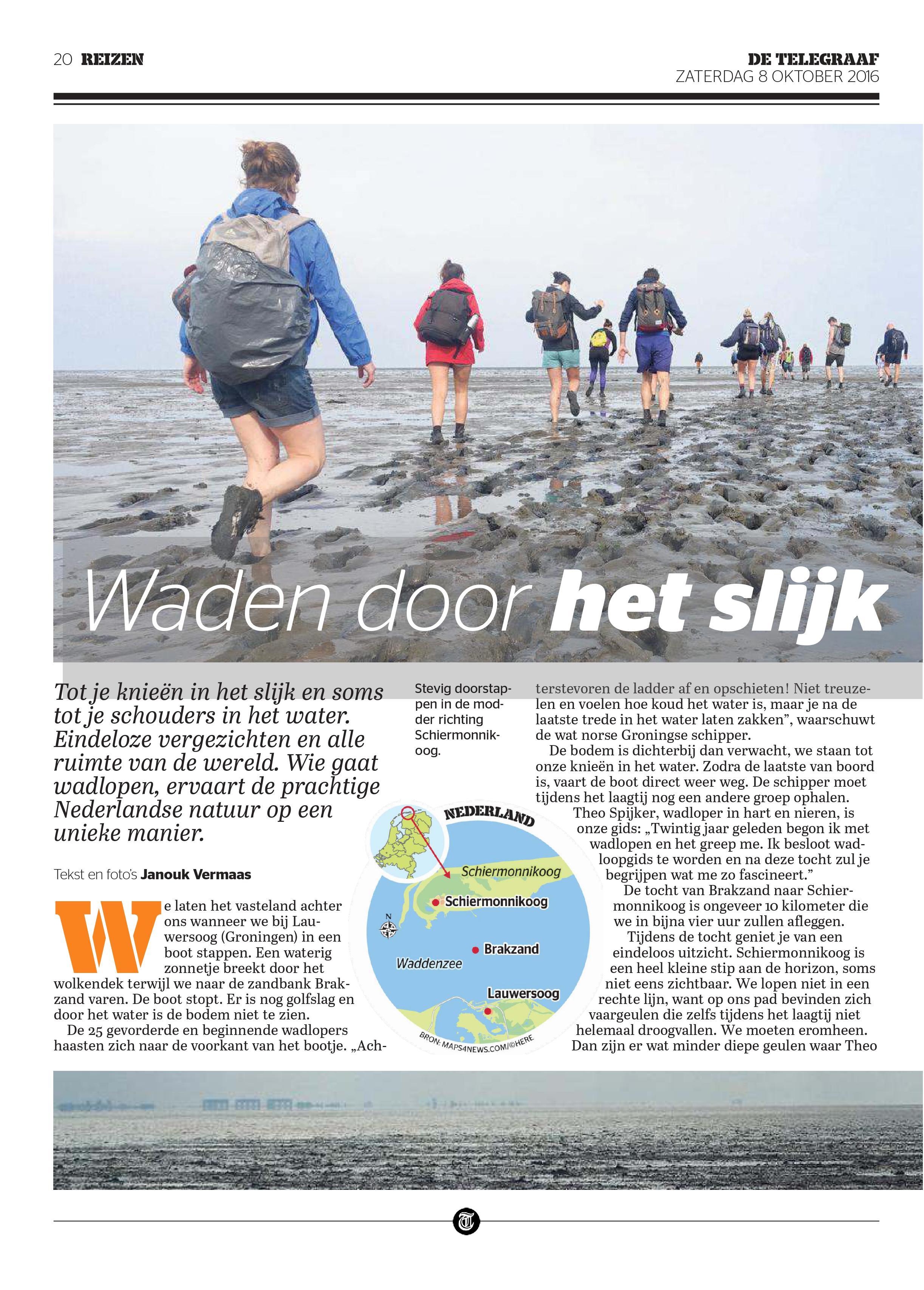 De Telegraaf, october 2016