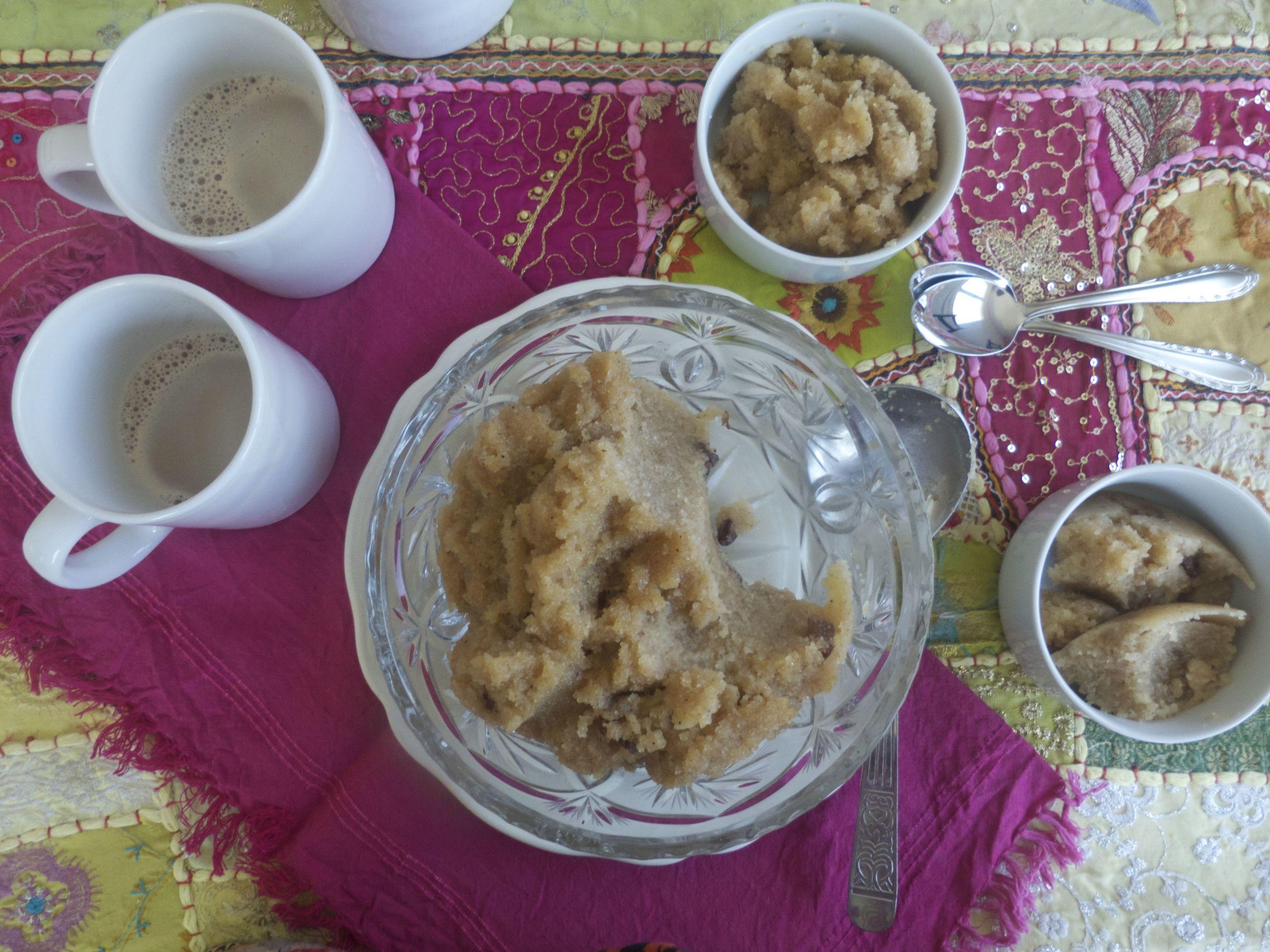 Desayuno con Halwa