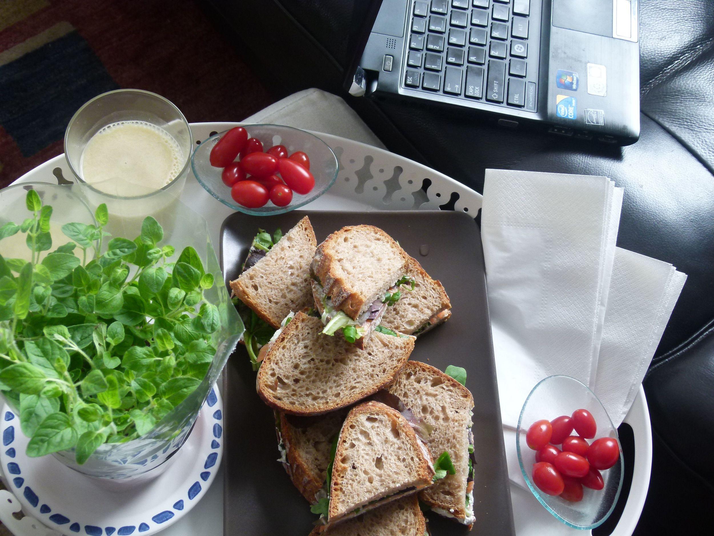 Working lunch, comida de trabajo