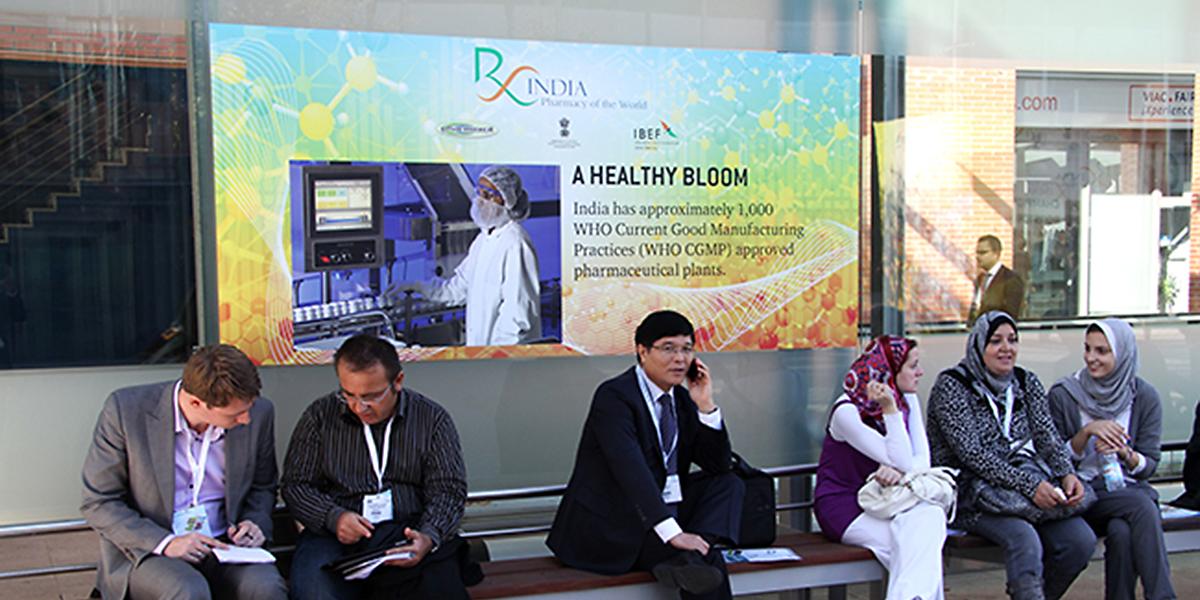 Brand India Pharma at CPhI Worldwide    Madrid, Oct 2012