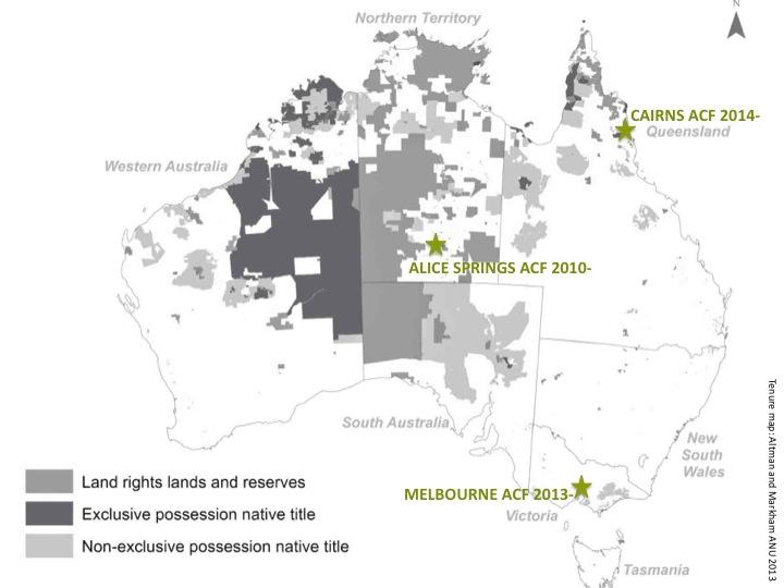 Aboriginal Carbon Fund offices