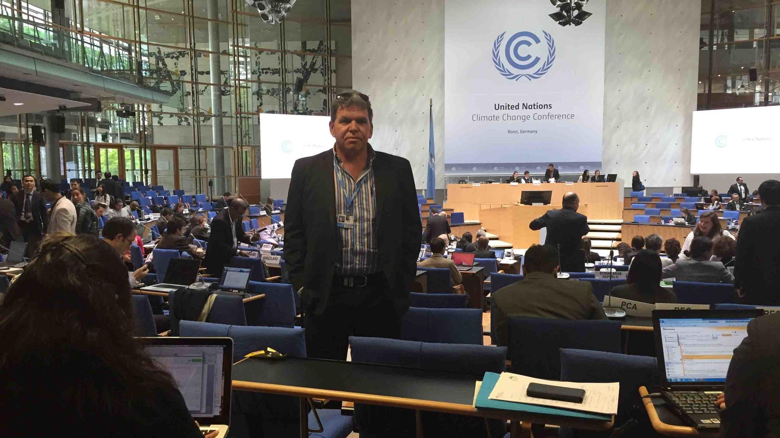 Rowan taking centre stage at UN COP21