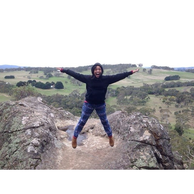 #JALANAN #rockstar @titijalanan hanging out at Hanging Rock #Melbourne today.