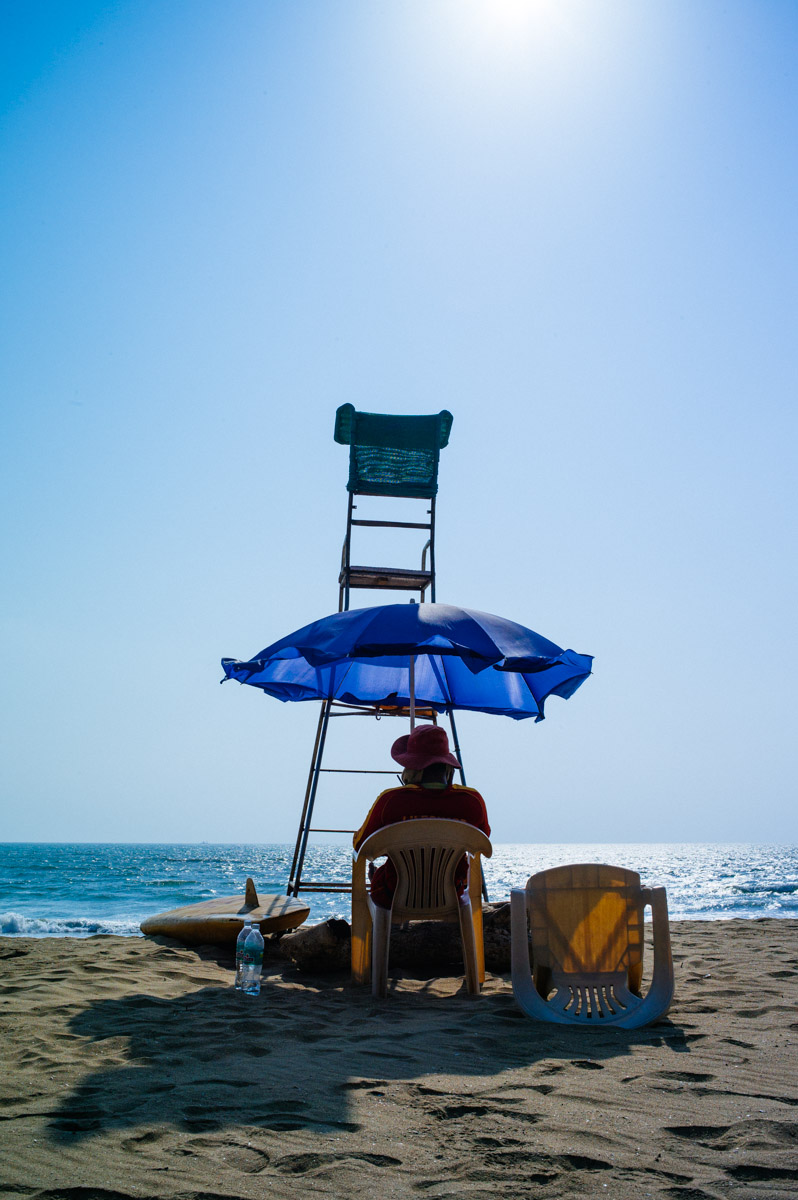Life guard on duty, but not much to do