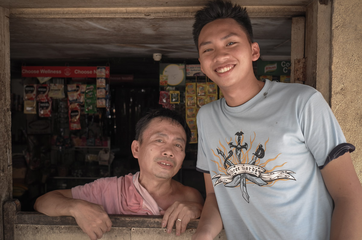 Meet Jonny and his son Rico, running the family business