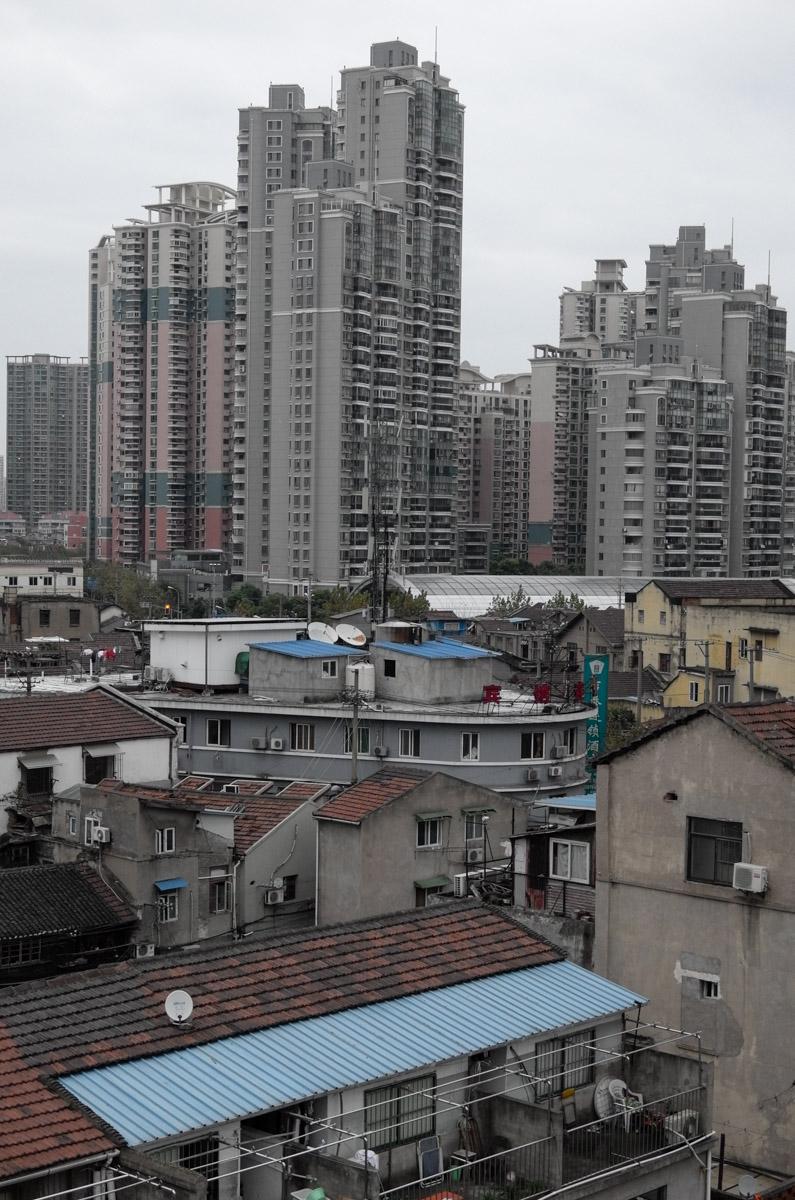 Old Shanghai meets new shanghai