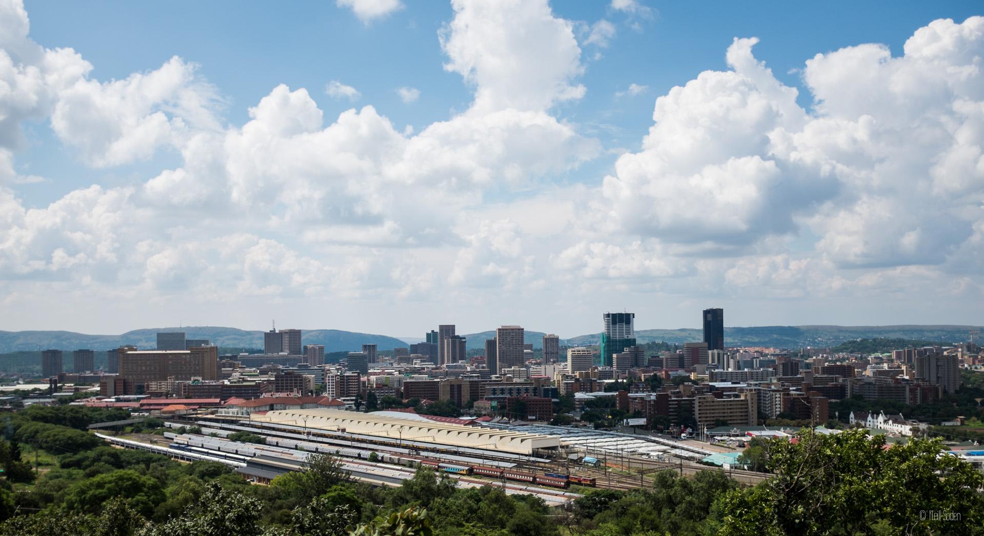 Overlooking Pretoria