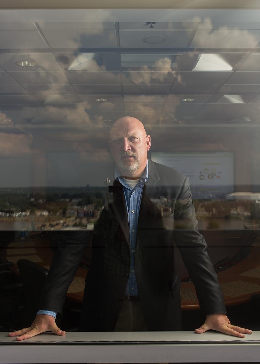 Acxiom CEO Scott Howe / Jacob Slaton for the New York Times