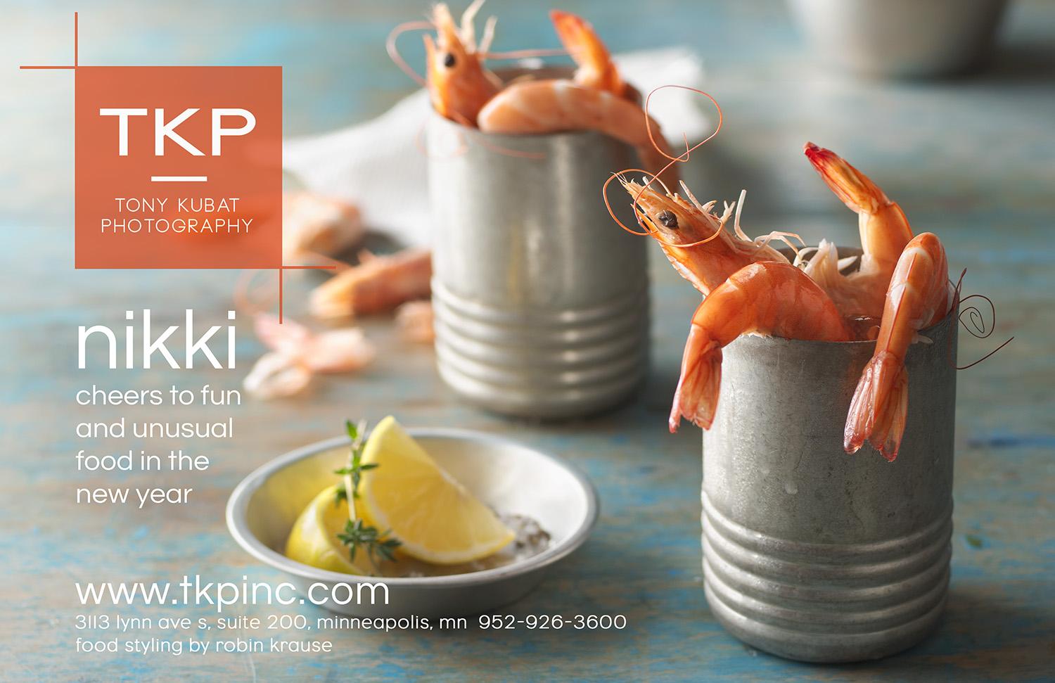 New Years Shrimp Cocktail | Tony Kubat Photography