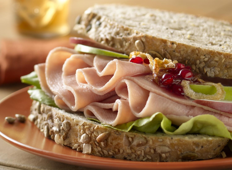 Honey Ham Sandwich | Tony Kubat Photography