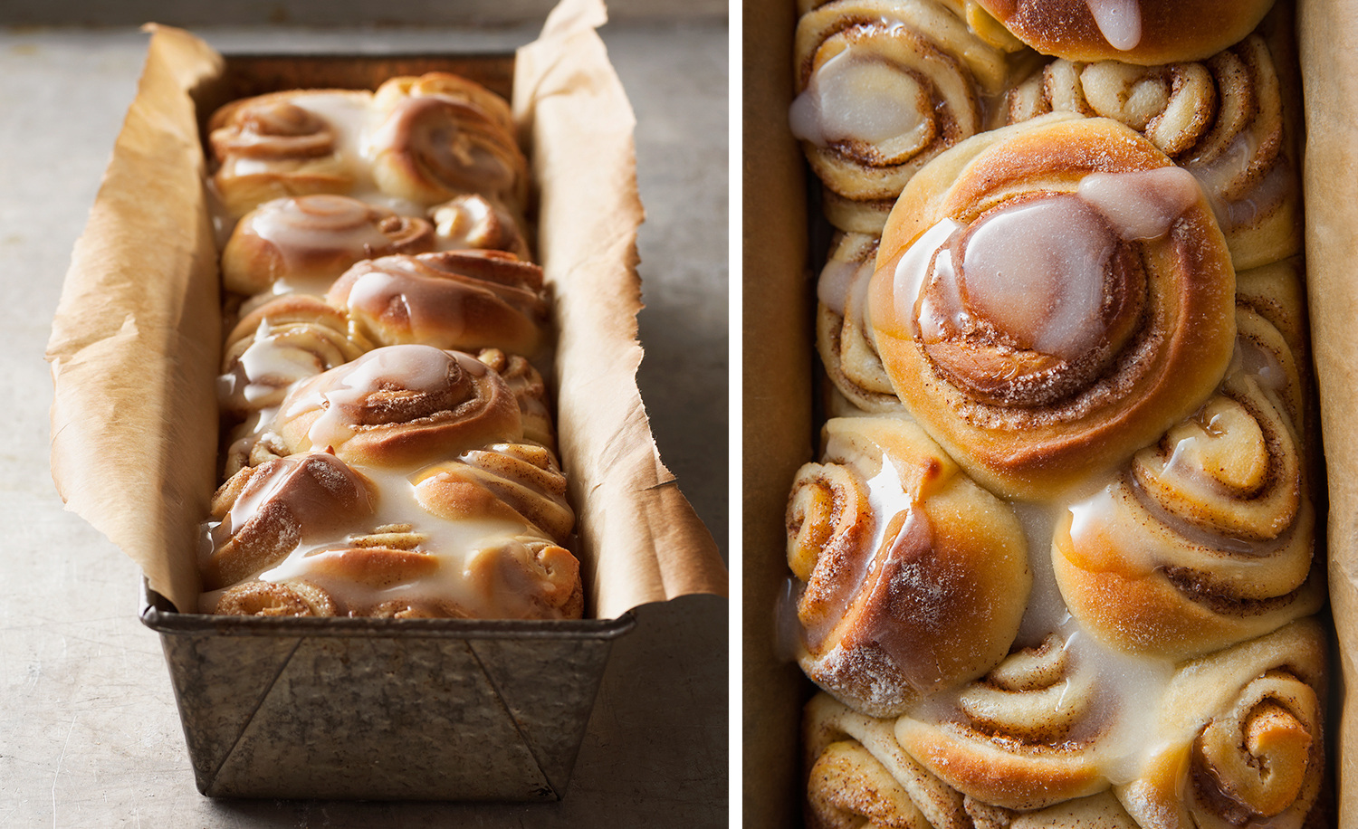 Fresh Cinnamon Rolls | Tony Kubat Photography